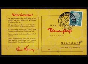Hohenrieth Überstempel Unterlüss Kr. Celle Landpost (d040