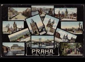AK Prag PRAHA Mehrbild ansehen (8508