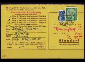Wietze Überstempel Celle 1956 Landpost (d043