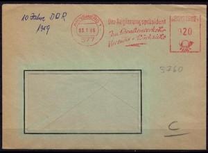 Arnsberg Freistempel Straßenverkehr Rücksicht 1966(d050