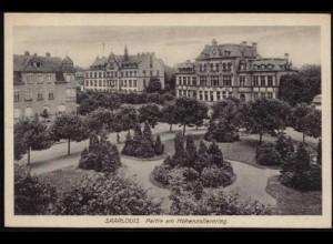 AK Saarlouis Partie am Hohenzollern ansehen (8509