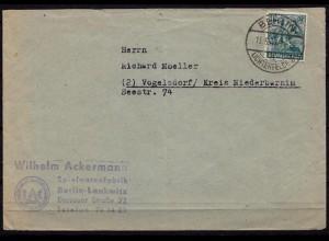 Lichterfelde Lankwitz nach Vogelsdorf 1948 (b729