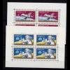 Ungarn Sojus 6-7-8 und Apollo 12 - Weltraum 1969 Mi. 2575-76 Klbg. ** (d407