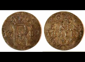 Brandenburg-Preußen 1/24 Taler 1783 A Friedr. II. (195
