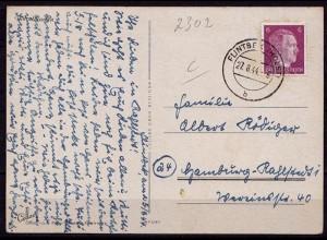 Flintbeck Holstein n.Rahlstedt AK Blumen 1944 (b983