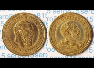 Medaille Friedrich und Wilhelm II. Deutsche Kaiser (p286