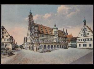 AK Rothenburg Tauber Rathaus Partie ansehen (8515