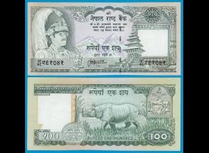 NEPAL 100 Rupees Banknote 1981 UNC Pick 34 kl. Nr (18654