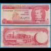 Barbados 1 Dollar Banknote 1973 Pick 29a F/VF (18661