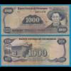 NICARAGUA 1000 CORDOBA 1979 Pick 139 GE/F Serie E (18688