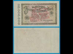 Reichsbahn Berlin 20 Millionen Mark 1923 meist gutes VF (18744