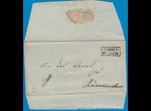Oldenburg Umschlag 1820 nach Rodenkirchen (18775