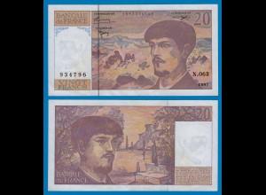 Frankreich - France - 20 Francs 1997 Pick 151i XF (18800