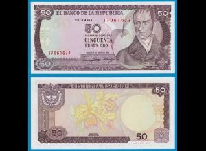 Kolumbien - Colombia 50 Pesos 1986 Pick 425b UNC (18839