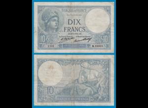 Frankreich - France 10 Francs Banknote 1931 F Pick 73d (18929