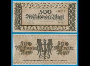 Kaiserslautern - Notgeld 500-Millionen Mark 1923 VF (18978