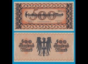 Kaiserslautern - Notgeld 500-tausend Mark 1923 VF/XF (18981