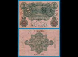 Reichsbanknote 50 Mark 1910 Rosenberg 42 -VF = 3 (18986