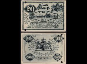 Rheinland - Neuss 20 Mark 1918 Notgeld Stadt (15682