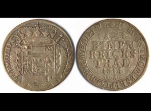 Münster Bistum 1/12 Thaler 1714 Franz Arnold v. Metternich 1706-18 (r1226