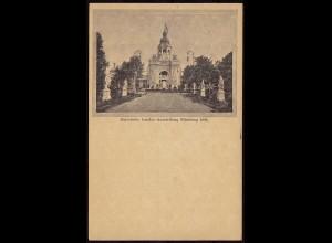 BAYERN LANDESAUSSTELLUNG NÜRNBERG 1896 Ganzs. + AK (8819