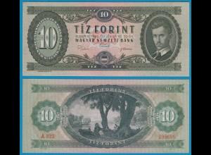 UNGARN - HUNGARY 10 Forint 1969 UNC Pick 168d (19070