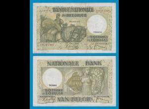 Belgien - Belgium 50 Francs 14.3.1938 Pick 106 gutes VF (19097