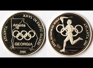 Medaille Olmpische Spiele Atlanta in Georga 1996 USA XXVI. OLYMPC GAMES (r572