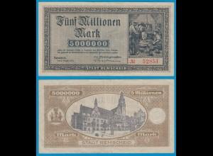 Remscheid - 5 Millionen Mark Banknote 1923 (19141