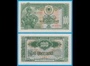 Albanien - Albania - 100 Leke Banknotes 1957 PICK 30a aUNC (19143