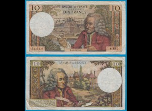 Frankreich - France - 10 Francs 4-2-1971 Pick 147c - F (19430