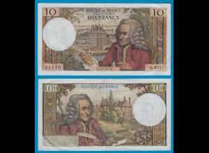 Frankreich - France - 10 Francs 3-6-1971 Pick 147c - gutes VF (19432