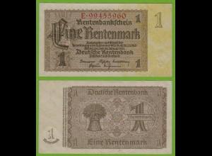 Rentenbankschein Deutsches Reich 1 Rentenmark 1937 Ros 166b UNC (19464