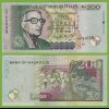 MAURITIUS - 200 RUPEES BANKNOTE 2001 Pick 57 UNC (19466