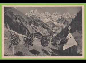AK Einödsbach Allgäuer Alpen m.Mädelgabel (19484