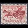Niederlande Mi. 422 postfrisch Tag der Briefmarke 1943 (80003