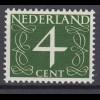 Niederlande Mi. 471y postfrisch Freimarken 1946 (80012