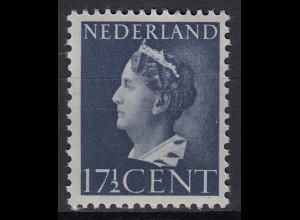 Niederlande Mi. 450 postfrisch Freimarken 1946 (80013