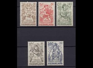 Niederlande Mi. 546-550 postfrisch Voor het Kind 1949 (80016