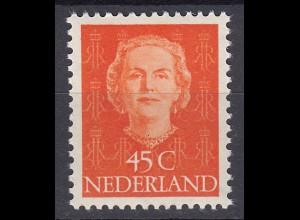 Niederlande Mi. 536 postfrisch Freimarken 1949 (80019