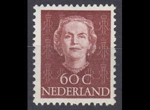 Niederlande Mi. 539 postfrisch Freimarken 1949 (80020