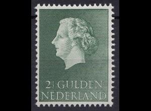 Niederlande Mi. 661 postfrisch Freimarken 1954 (80022