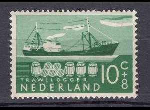 Niederlande Mi. 695 postfrisch Sommermarken 1956 (80027
