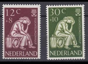 Niederlande Mi. 723-727 postfrisch Weltflüchtlingsjahr 1960 (80031