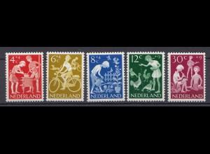 Niederlande Mi. 785-789 postfrisch Voor het Kind 1962 (80040