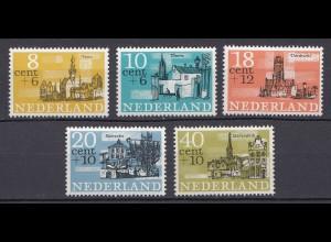 Niederlande Mi. 843-847 postfrisch Sommermaeke 1965 (80047