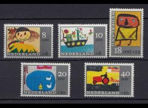 Niederlande Mi. 850-854 postfrisch Voor het Kind 1965 (80048
