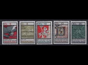 Niederlande Mi. 858-862 postfrisch Sommermarke 1966 (80051