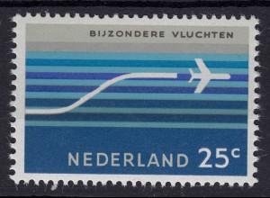 Niederlande Mi. 863 postfrisch Flugpostmarke 1966 (80052