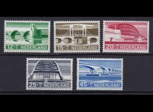Niederlande Mi. 894-898 postfrisch Sommermarken 1968 (80061